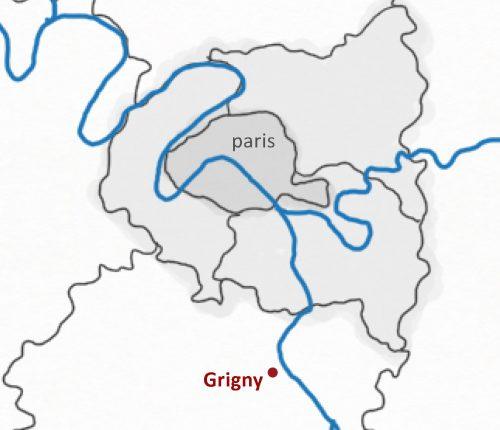 grigny-localisation