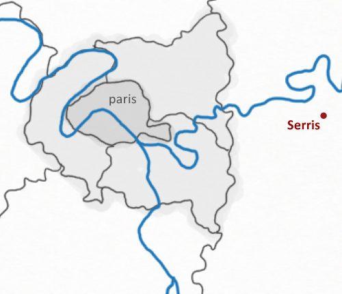 serris-localisation