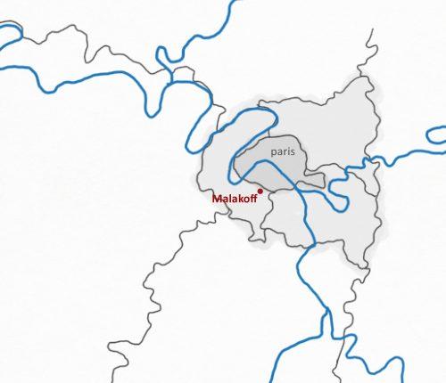 localisation Malakoff